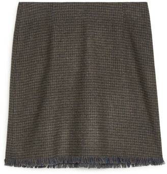 Arket Tweed Skirt