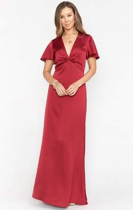 Show Me Your Mumu Rome Twist Gown