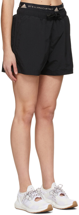 Thumbnail for your product : adidas by Stella McCartney Black Sportswear Shorts