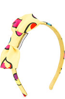 Moschino Kids - bow detail hairband - kids - Cotton - One Size