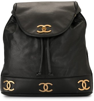 Chanel Pre Owned 1992 Triple CC backpack