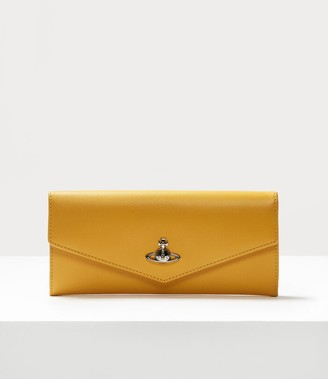 Vivienne Westwood Pimlico Credit Card Wallet Yellow