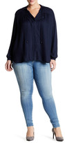 Jessica Simpson Super Skinny Denim Pant (Plus Size)