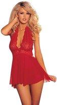 ABC Women's Lingerie, 1 Set Womens Sexy Corset Lingerie With G-string Underwear Sleepwear