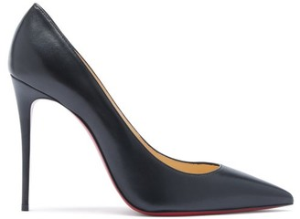 Christian Louboutin Kate 100 Leather Pumps - Black
