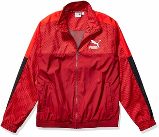 Puma Men's T7 Track Jacket All Over Print Panel