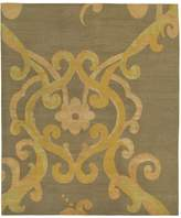 Tufenkian Artisan Carpets Arabesque Verde Area Rug, 10' x 14'