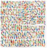 Moschino all over logo print scarf