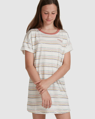 Roxy Girls 8-14 Open Fire Short Sleeve T Shirt Dress