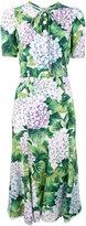 Dolce & Gabbana Kate hydrangea print dress - women - Silk/Viscose - 40