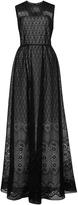 No.21 No. 21 Antonia Maxi Printed Dress with Cutout Back