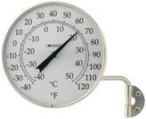 Rejuvenation Satin Nickel Outdoor Dial Thermometer