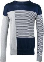 Diesel Black Gold striped sweatshirt - men - Cotton - XL