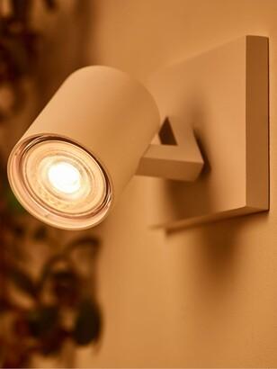 Philips 3.8W LED Warm Glow GU10 Dimmable Light Bulb