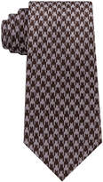 Sean John Men's Retro Houndstooth Silk Tie