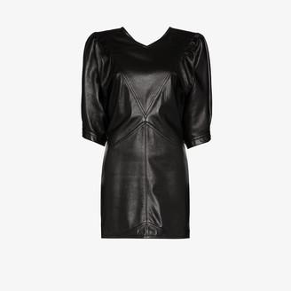 Isabel Marant Xadela leather mini dress