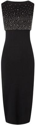 James Lakeland Studs Knitted Cowl Dress