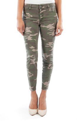 KUT from the Kloth Connie High Waisted Ankle Skinny Jeans