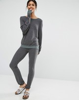 Wildfox Couture Gray Malibu Joggers
