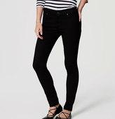 LOFT Curvy Skinny Ankle Jeans in Black