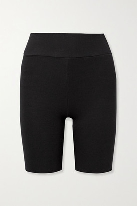 Twenty Montreal Mackay Ribbed Stretch-jersey Shorts