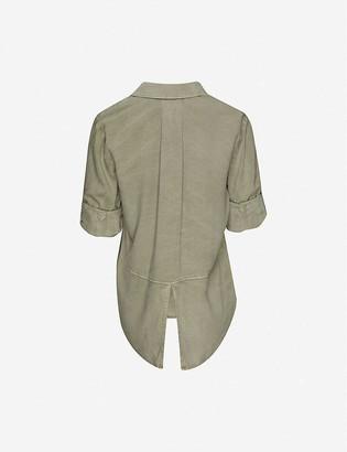 Bella Dahl Split-back woven shirt