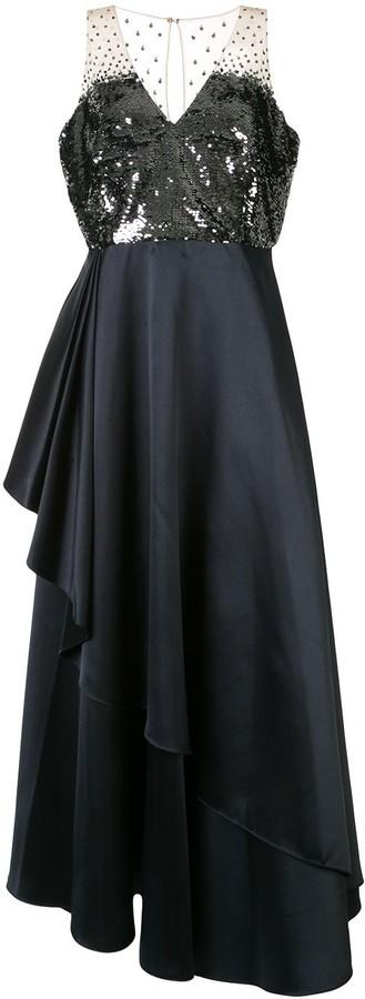 Sachin + Babi Teagan sequin gown