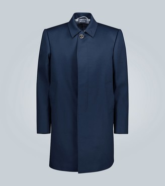 Thom Browne Cotton-twill overcoat