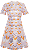 Giambattista Valli Chevron Mini Dress