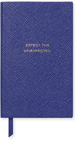 "Smythson Expect the Unexpected"" Panama Notebook, Cobalt"