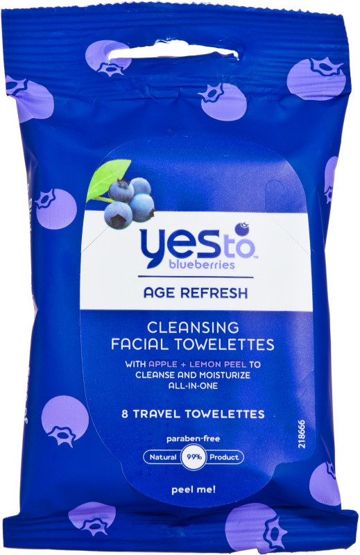 Ulta Yes to Blueberries Travel Cleansing Towelettes