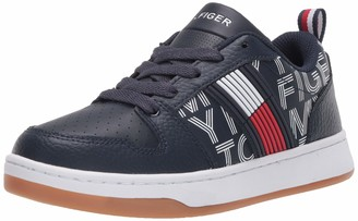 Tommy Hilfiger Unisex-Kid's TH CADE Court Low Sneaker