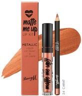 Barry M Metallic Matte Me Up Lip Kit