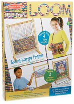Melissa & Doug Girl's Wooden Multi-Craft Weaving Loom
