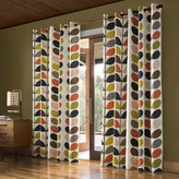Orla Kiely Multi Stem Eyelet Curtains - 229x137cm