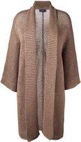 Polo Ralph Lauren large cardi-coat - women - Polyester/Viscose - XS