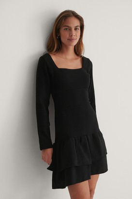 Trendyol Square Neck Mini Dress