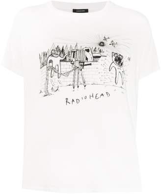 R 13 Radiohead print T-shirt