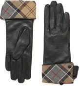 Barbour Lady Jane Leather Gloves Black