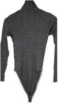Jean Paul Gaultier Grey Wool Knitwear