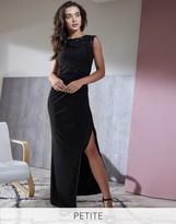 Lipsy Petite Lace Sequin Insert Maxi Dress