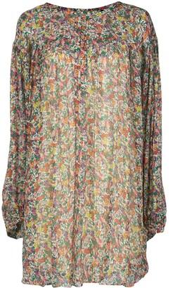 Isabel Marant Orion floral-print mini dress