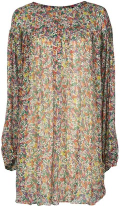 Isabel Marant Orion floral-print mini dress
