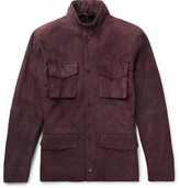 Thom Sweeney - Suede Field Jacket - Chocolate