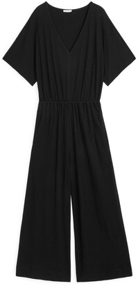 Arket Interlock Jersey Jumpsuit