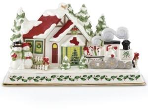 Lenox Santa & Train Musical Lighted Centerpiece