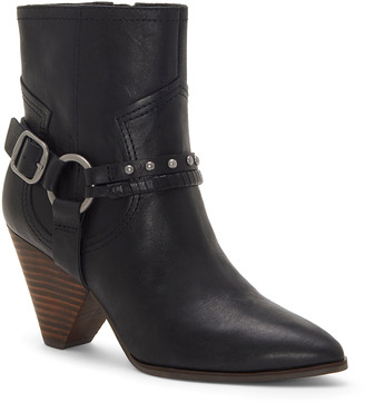 Lucky Brand Women's Casual boots BLACK - Black Majoko Leather Bootie - Women