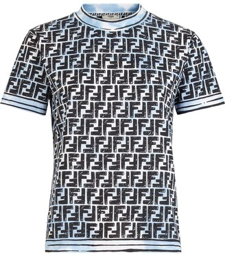 Fendi motif T-shirt