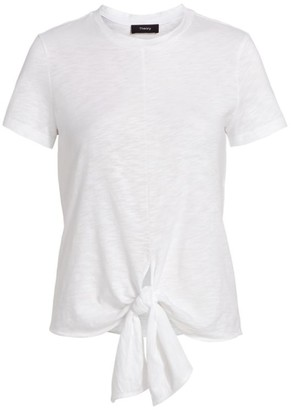 Theory Tie-Hem T-Shirt