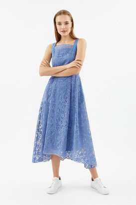 Coast Embroidered Organza Full Midi Dress